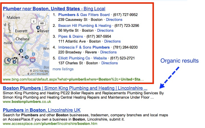 Old Bing integration