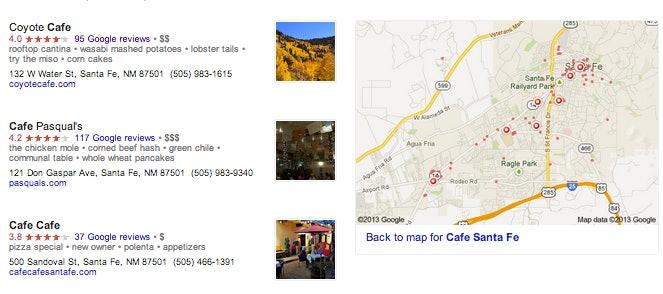 Google Places SERP changes