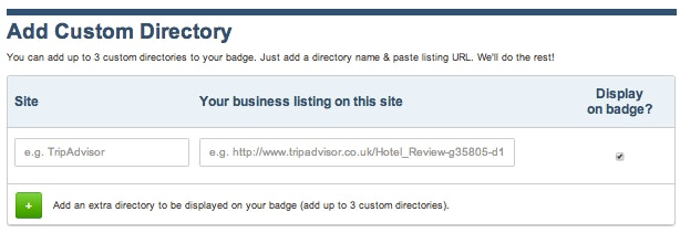 ReviewBiz - add niche or local directories
