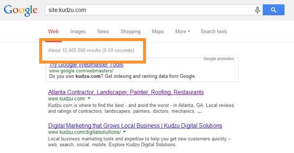 site: domain search