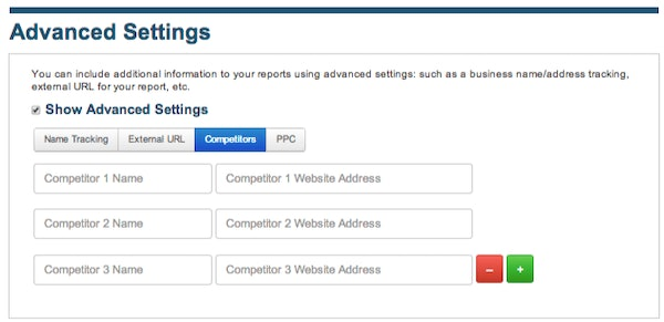 LSRC competitor tracking with addon