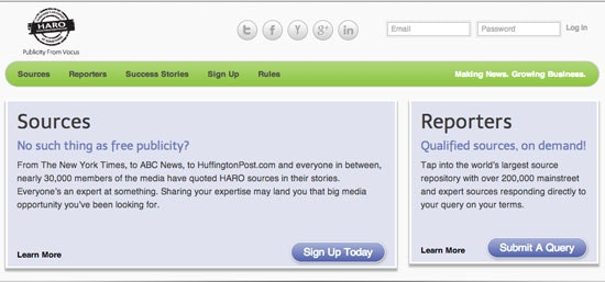 Build your authority with HARO