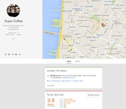 Google+ Local added to CitationBurst