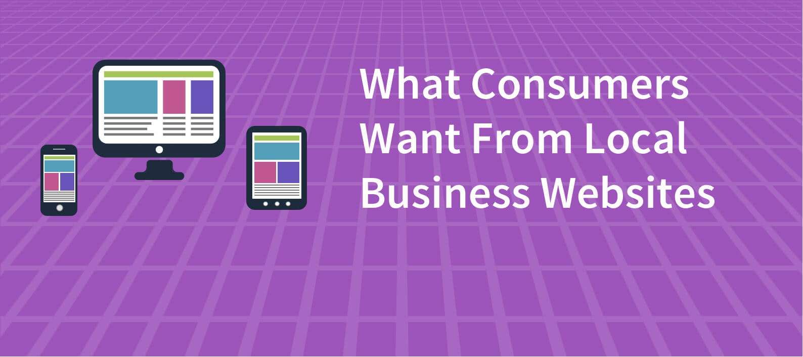 34% of consumers think a Smart Website gives a local business more credibility