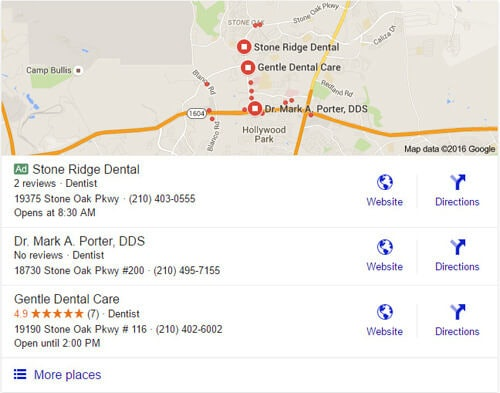 paid ads in google local pack