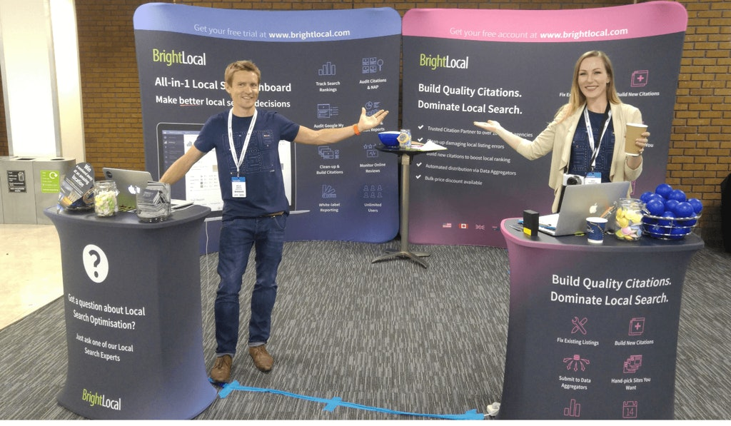 BrightLocal Team at BrightonSEO