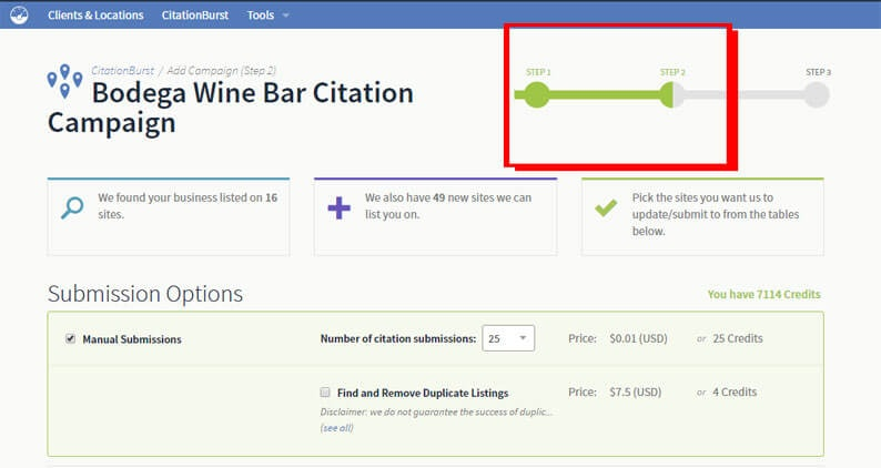 build citations from your CitationTracker report