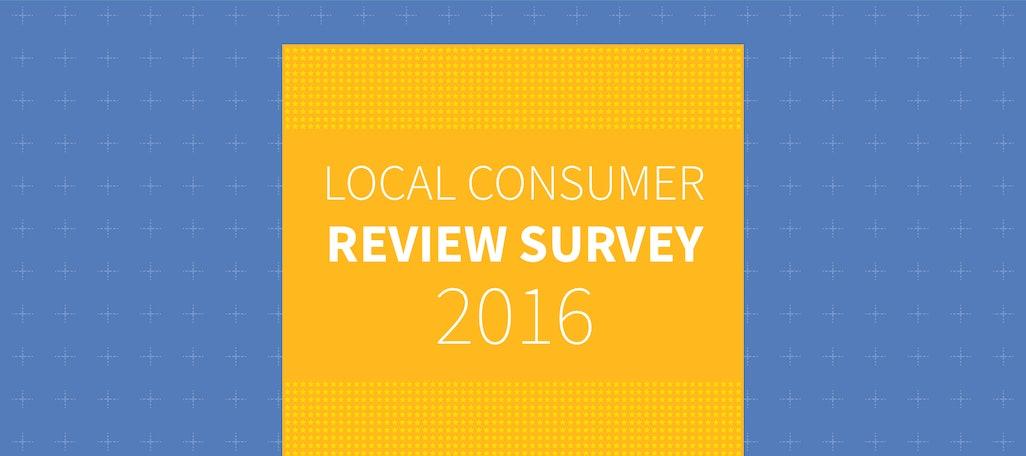Local Consumer Review Survey 2016