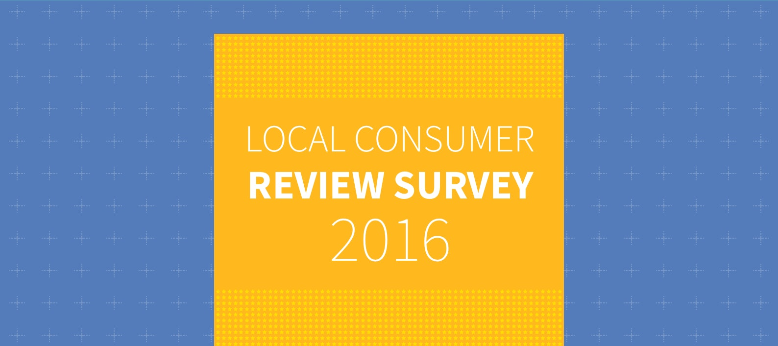 Local Consumer Review Survey 2016