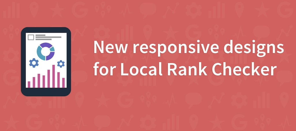 Updated Designs for Local Search Rank Checker