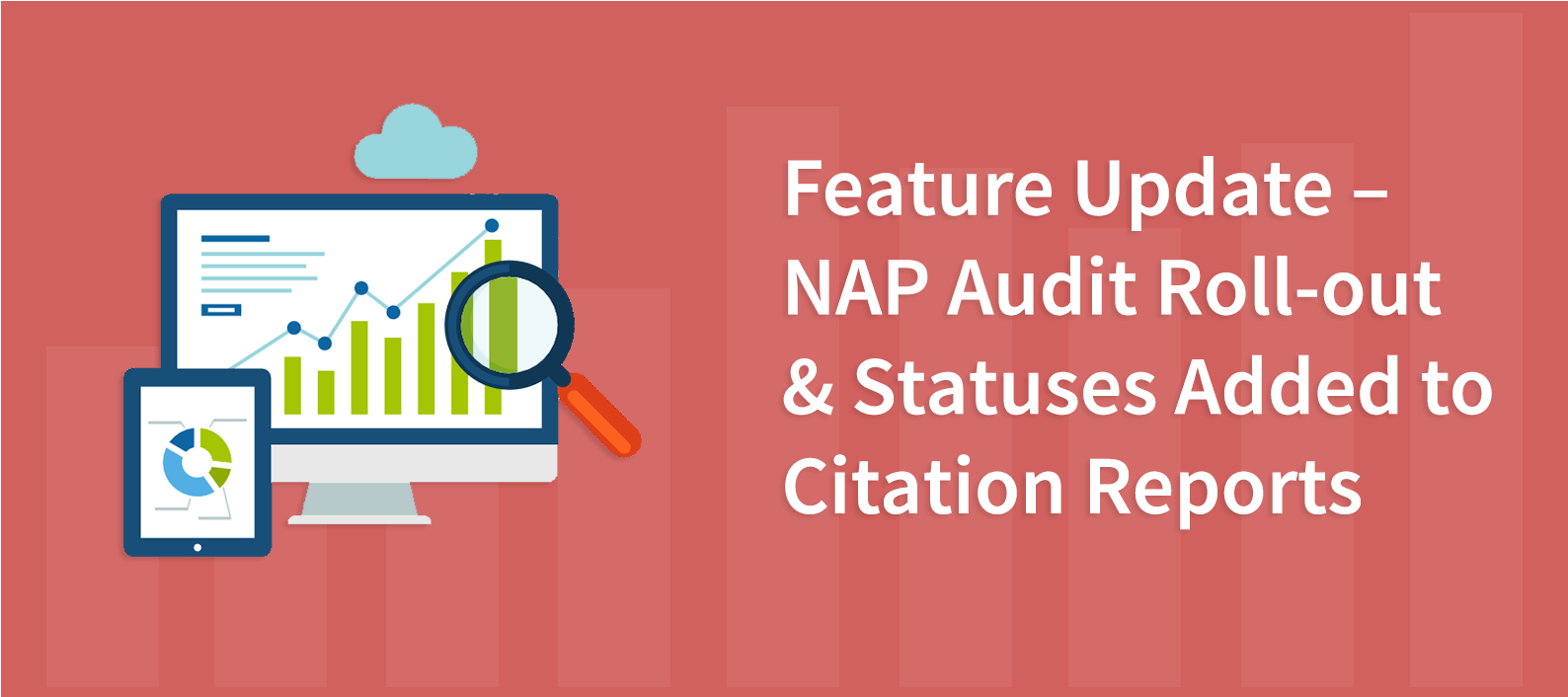 Feature Update – NAP Audit Roll-out & Statuses Added to Citation Reports