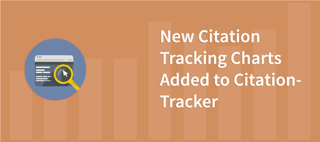 New Citation Tracking Charts Added to Citation Tracker
