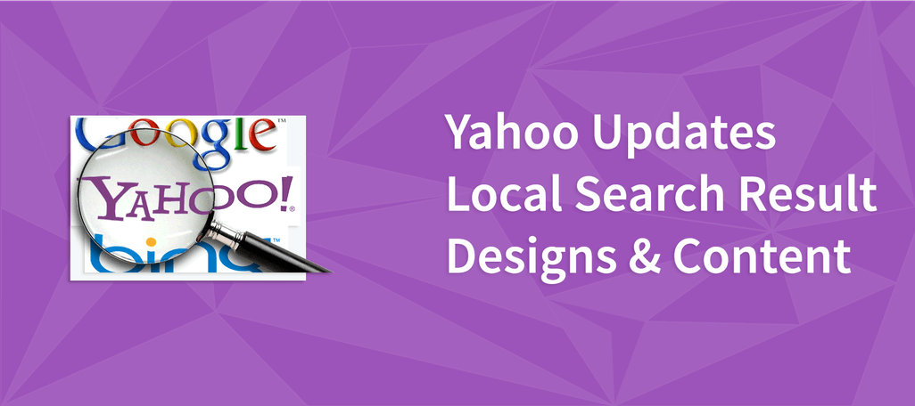 Yahoo Updates Local Search Result Designs & Content