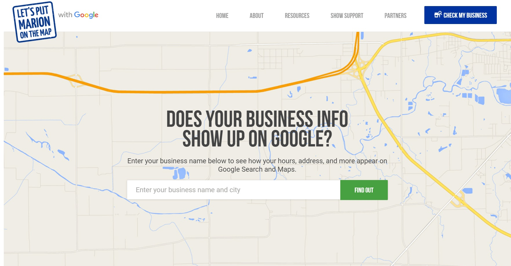 Set up Google My Business to help improve local rankings