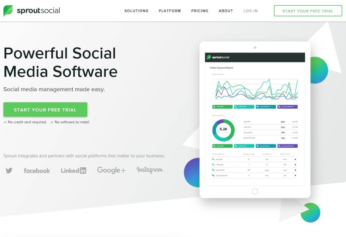 Sprout Social screenshot