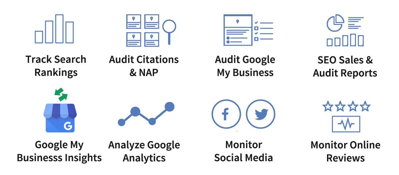 All your local seo KPIs in one place