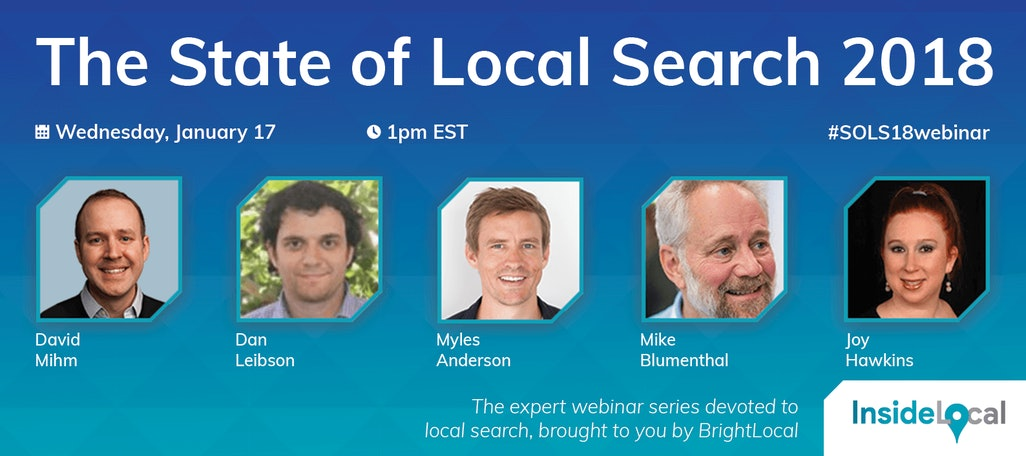 The State of Local Search 2018