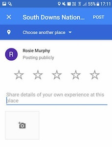 Google Reviews Popup