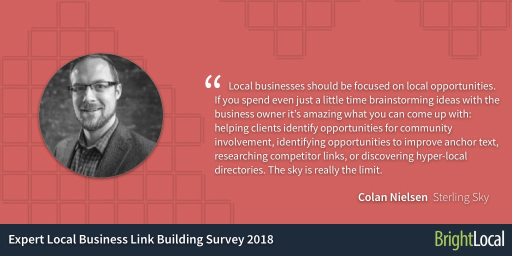 11 Top Link-Building Tips from Local SEO Experts - 9