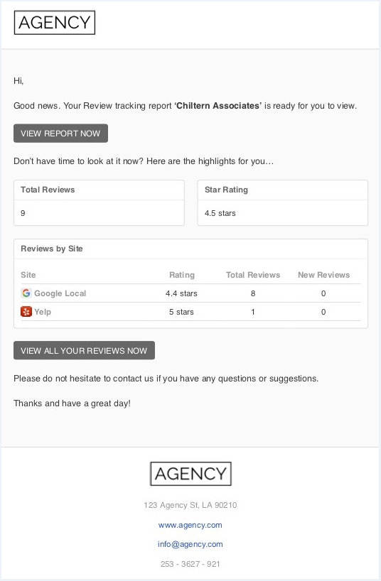 NEW: Own Your Results With Detailed White-label Report Emails - 4