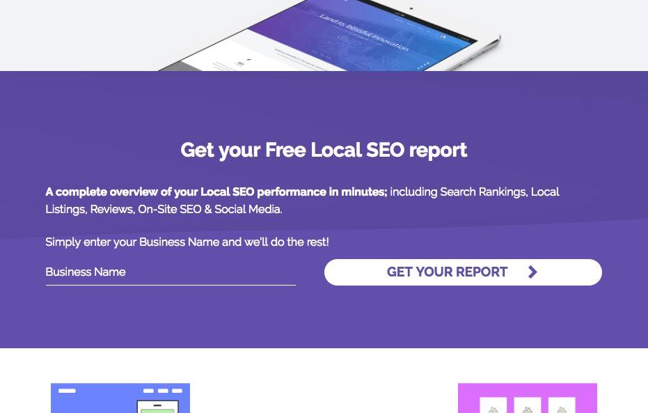 LeadGen Widget Screenshot
