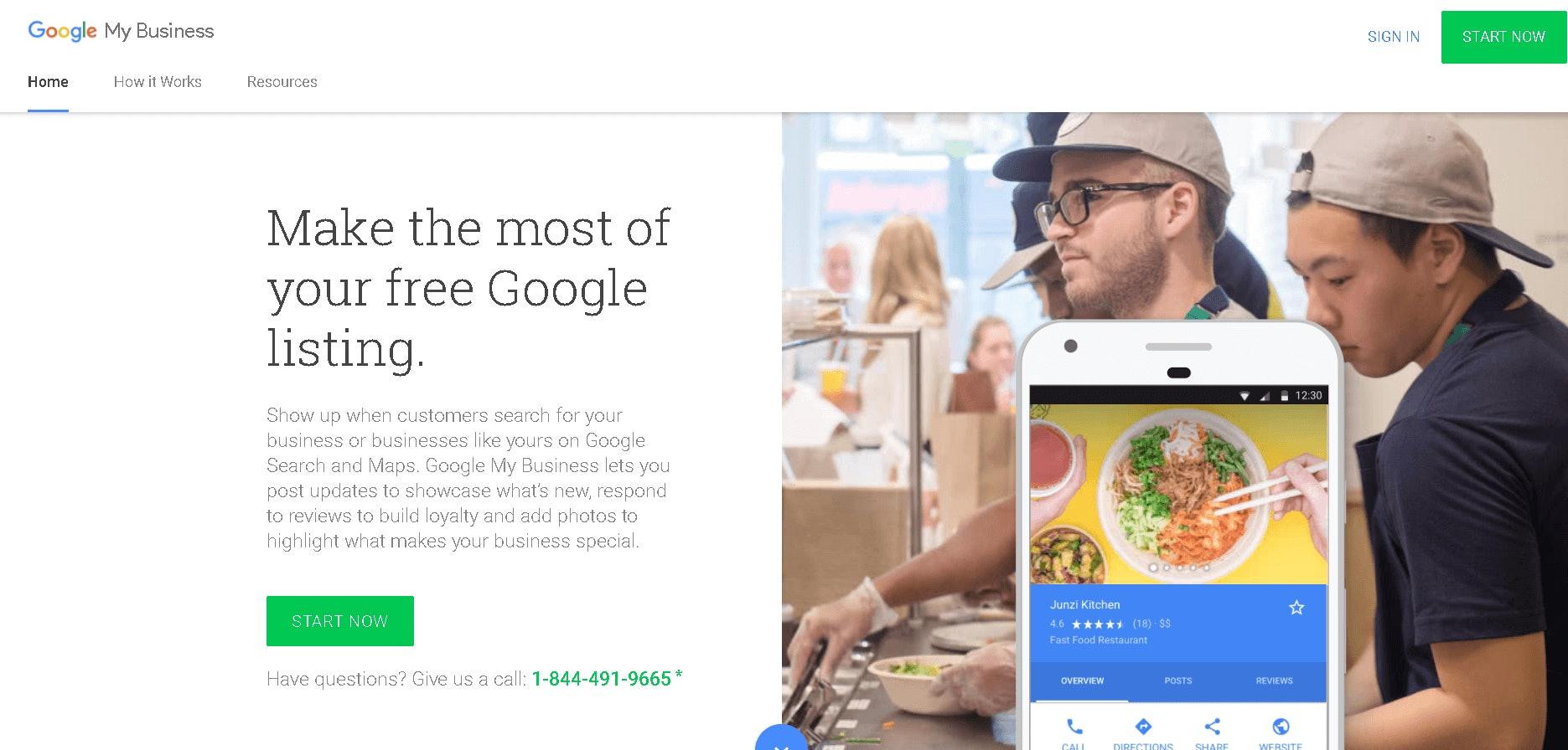 Google Business login