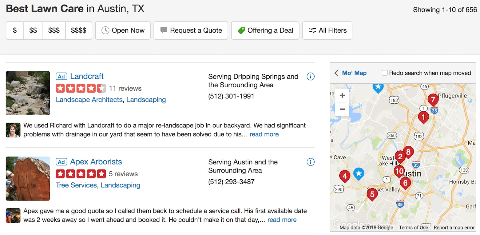 7 Tactics Local SEOs Can Steal from SERP-hogging Giants - 12