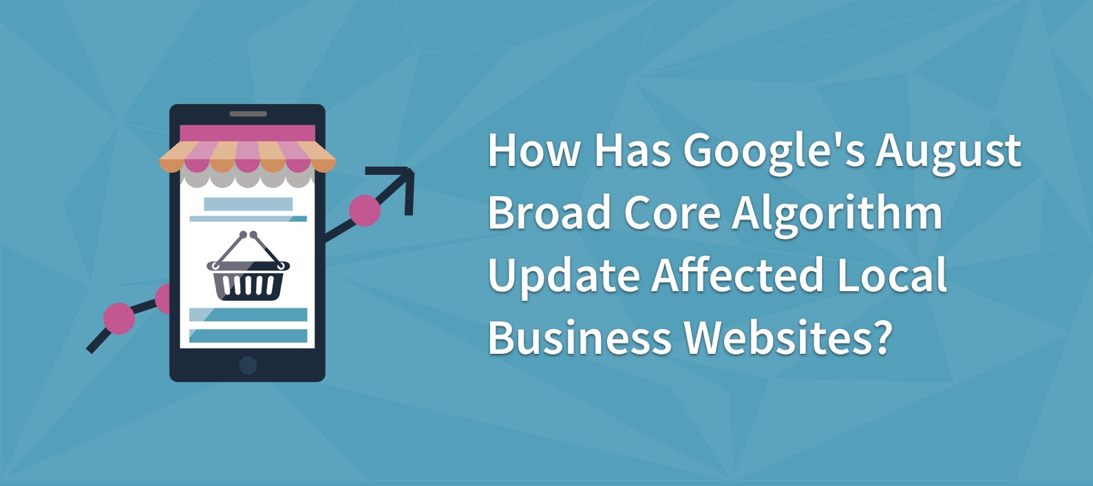 How Has Google's August Broad Core Algorithm Update Affected Local Business Websites?