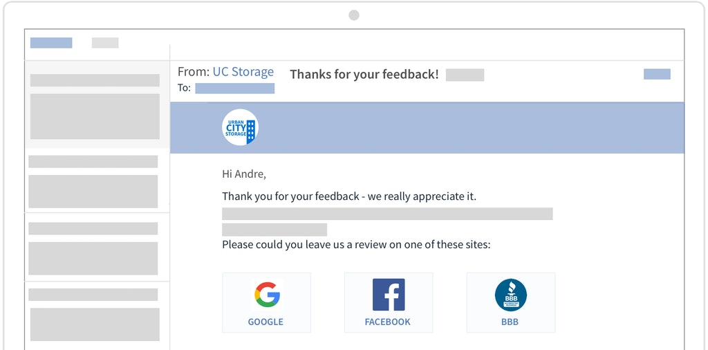 Get reviews with customized feedback