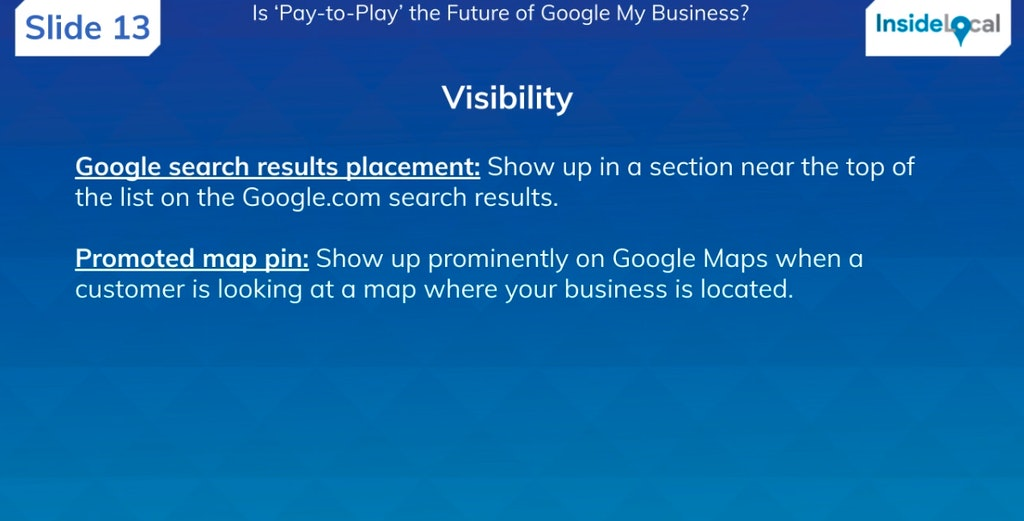 Is 'Pay-to-Play' the Future of Google My Business? - BrightLocal