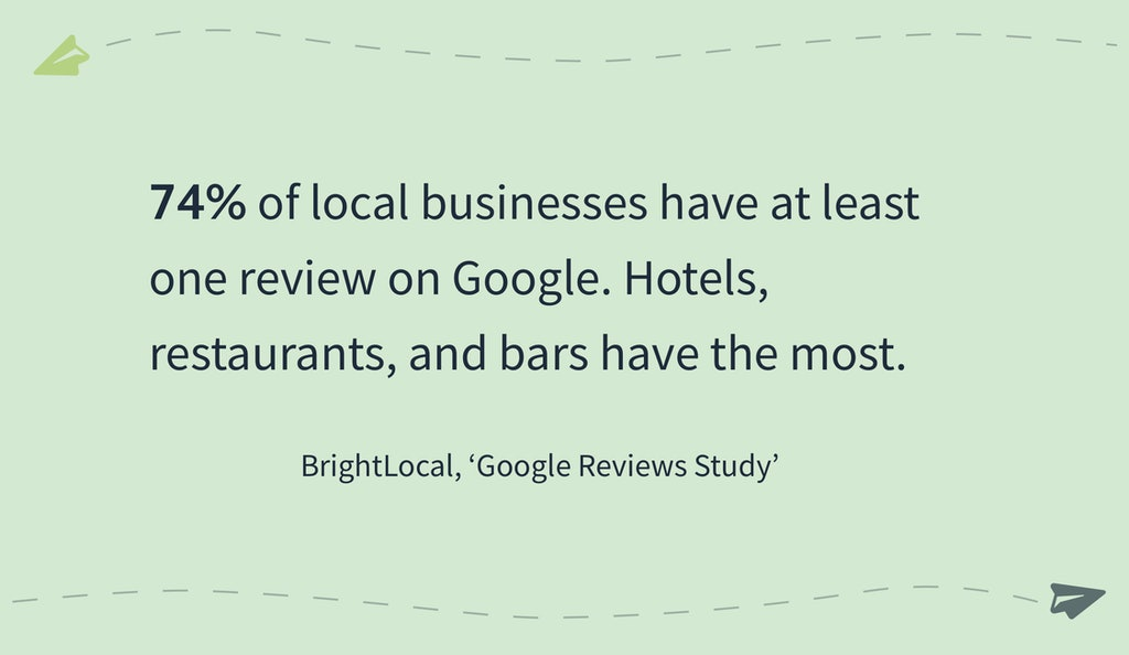 Online Reviews Statistics - BrightLocal Google Reviews Study