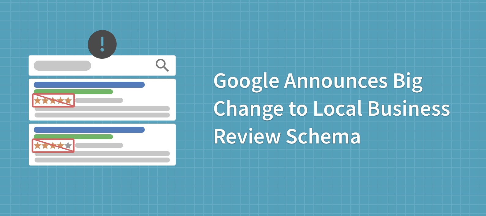 Google Announces Big Change to Local Business Review Schema