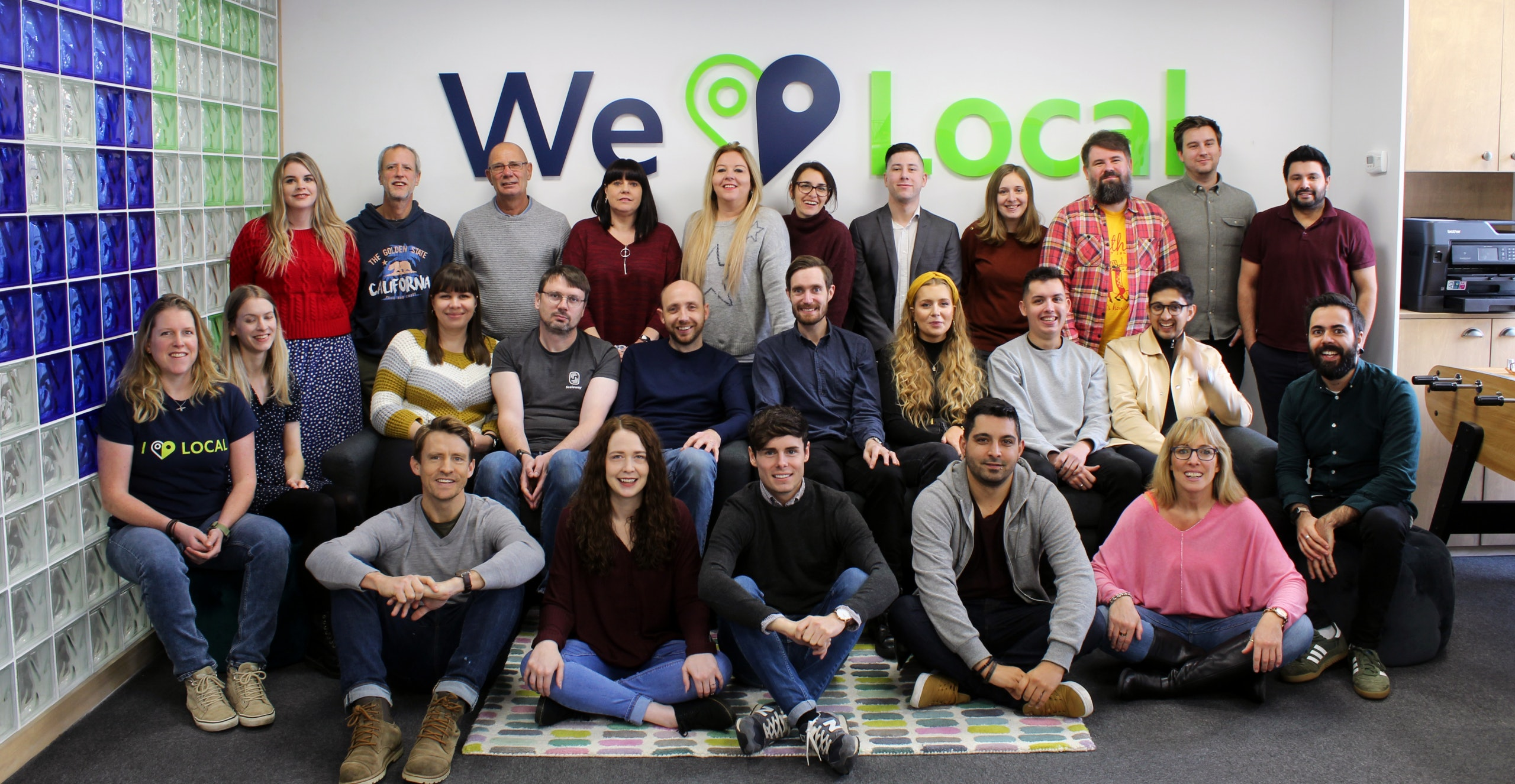 BrightLocal Team Photo 2019