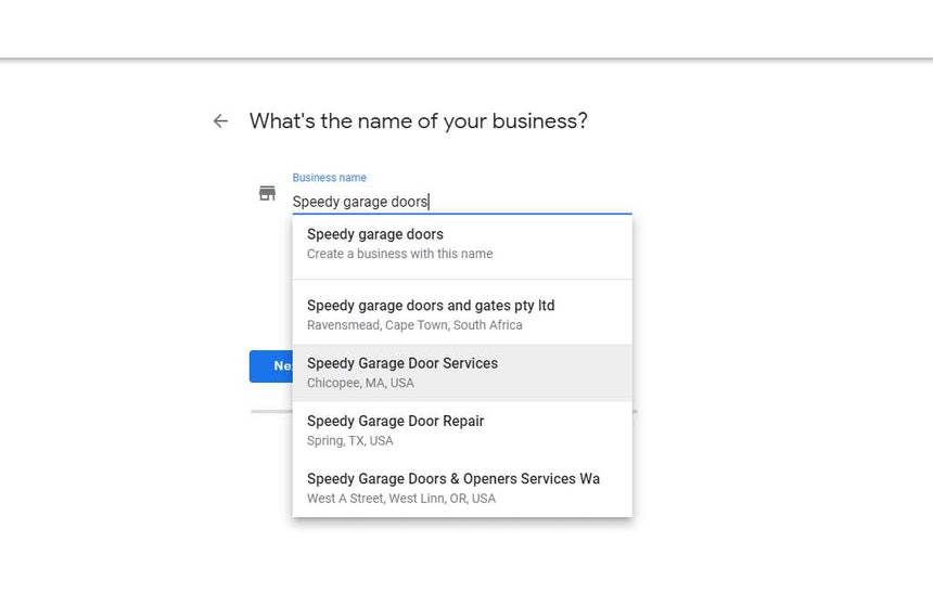 Registering service area business on Google