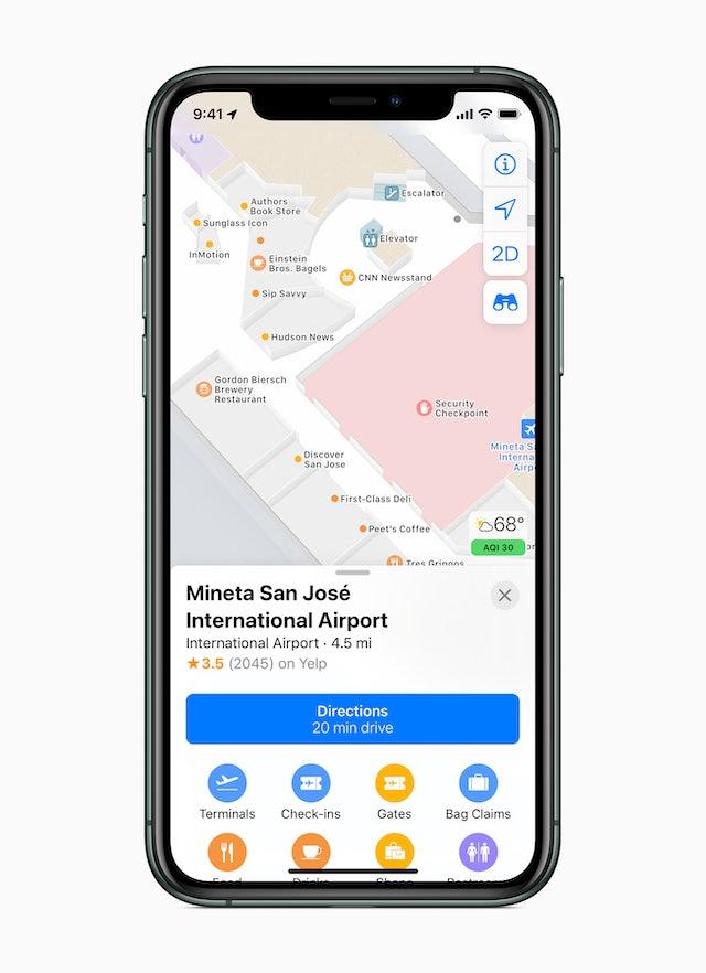Apple Maps Indoor Update