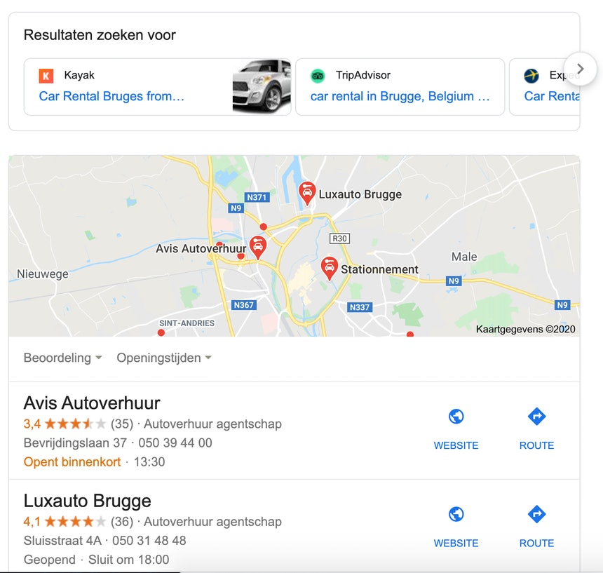Car rental Germany EU search