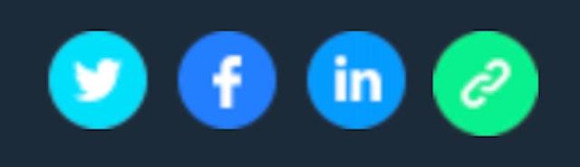 Email social badges