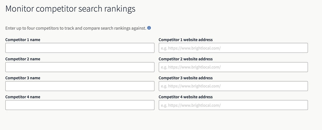 How to Track Your Competitors Using BrightLocal