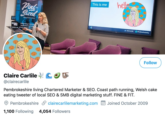 Claire Carlile on Twitter