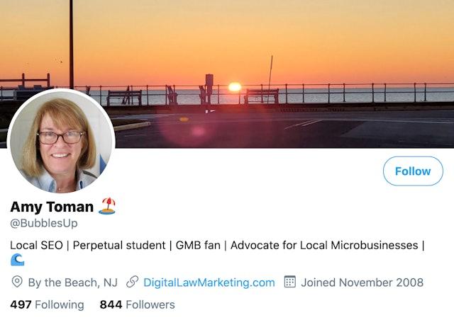 Amy Toman on Twitter