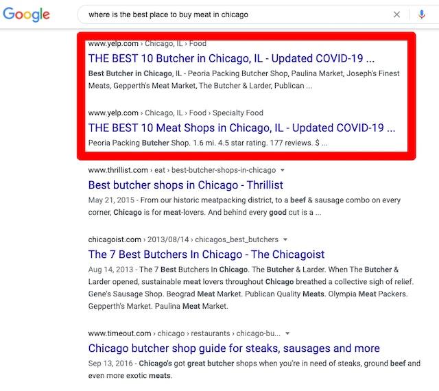 Butchers Chicago