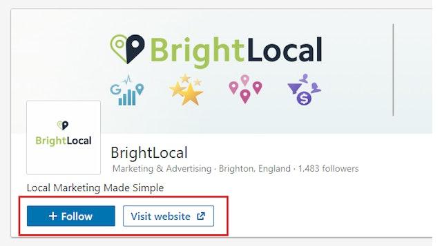 BrightLocal on LinkedIn