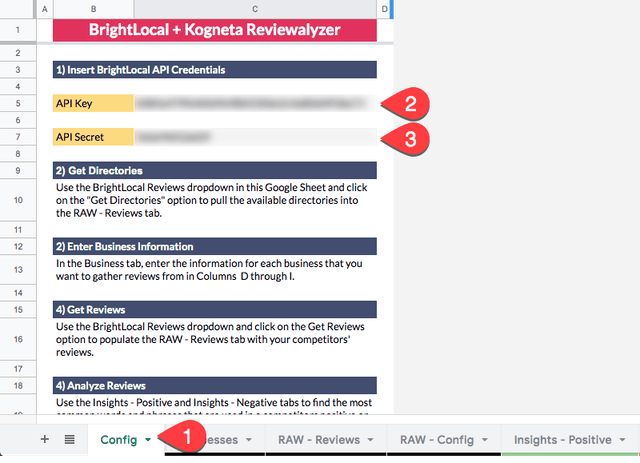 BrightLocal and Kogneta Reviewalyzer