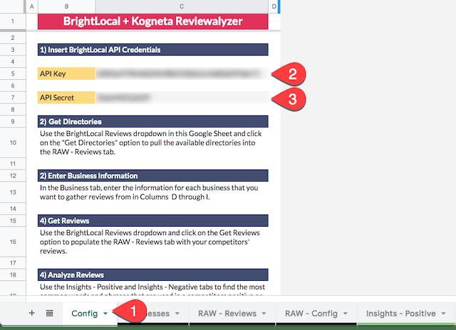 BrightLocal and Kogneta Reviewalyzer