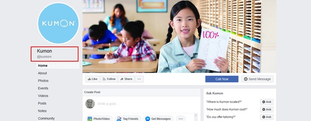 Kumon on Facebook