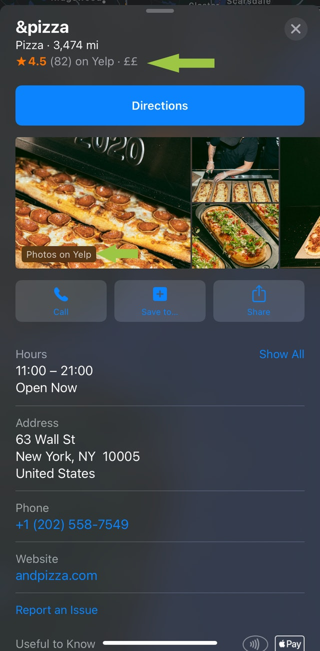 Apple Maps Local Listing