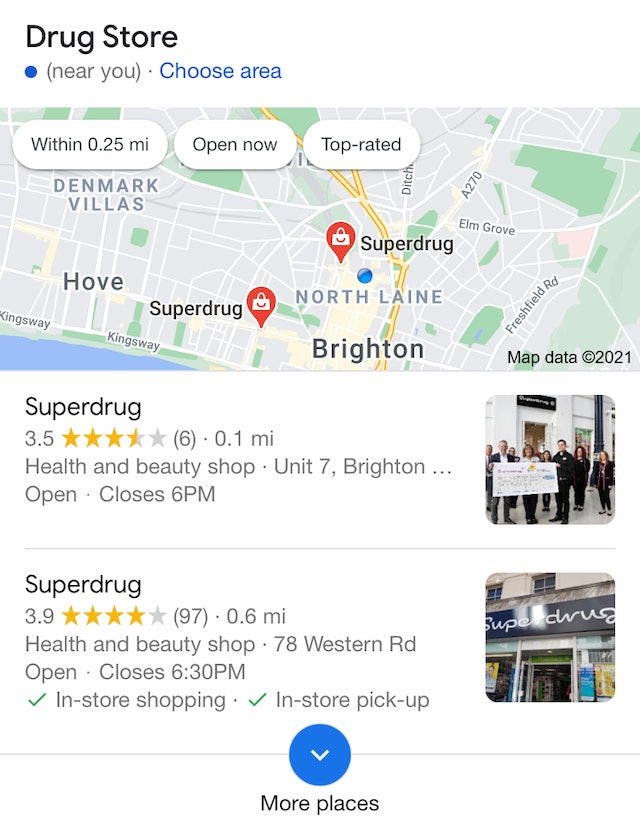 Local 2-Packs Spotted in Google Mobile SERPs - 1