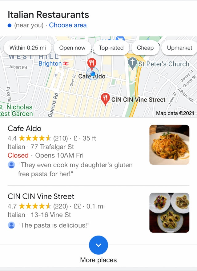 Local 2-Packs Spotted in Google Mobile SERPs - 2