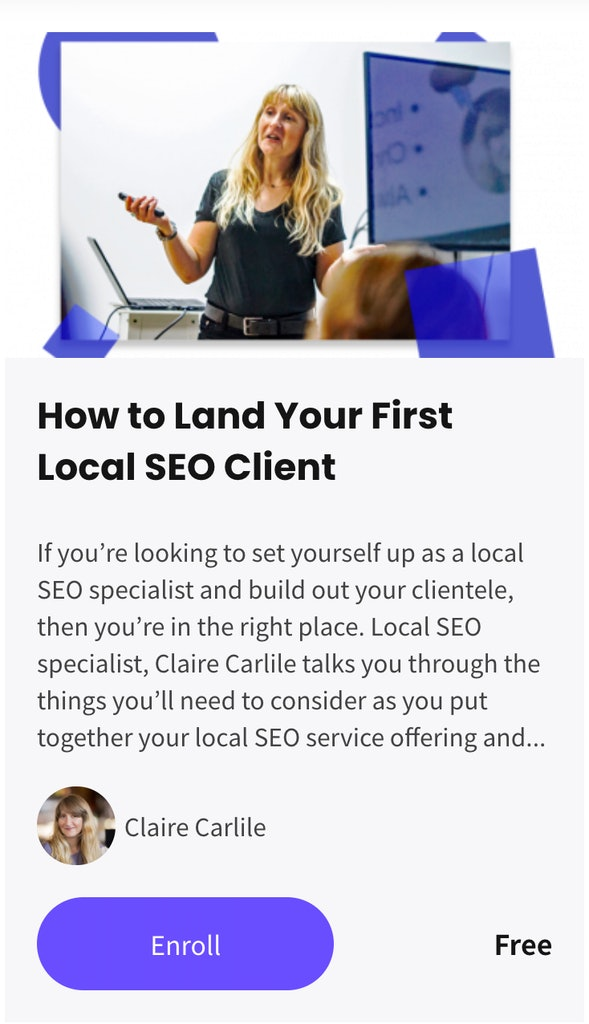 How to Land Your First Local SEO Client