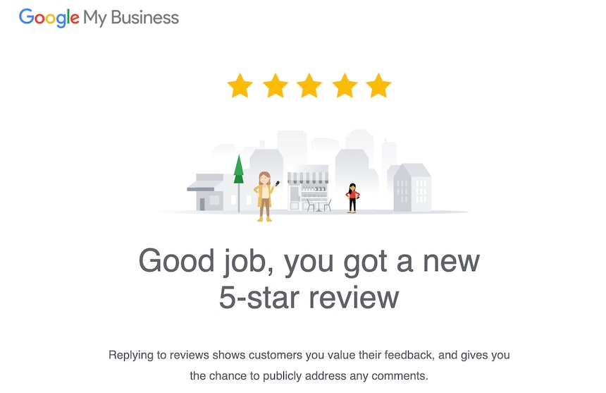 New Google Review